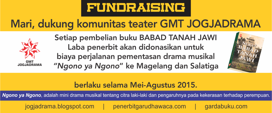 Fundraising Ngono ya Ngono | Bantu Komunitas ini menyebar nilai baiknya!